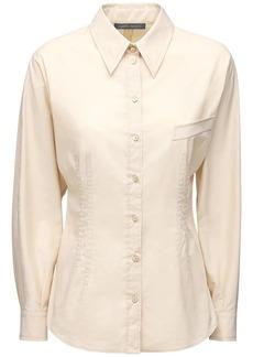Alberta Ferretti Cotton Poplin Shirt