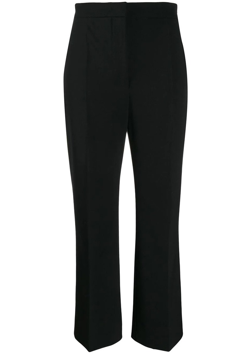 Alberta Ferretti cropped twill trousers