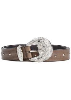 Alberta Ferretti crystal embellished belt
