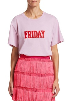Alberta Ferretti Days Of The Week Friday T-Shirt
