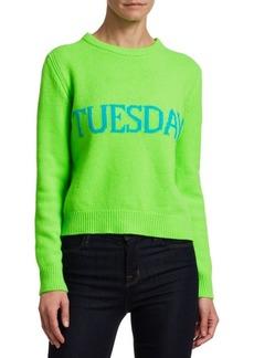 Alberta Ferretti Days Of The Week Tuesday Sweater
