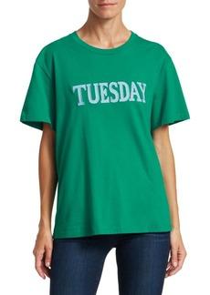 Alberta Ferretti Days Of The Week Tuesday T-Shirt