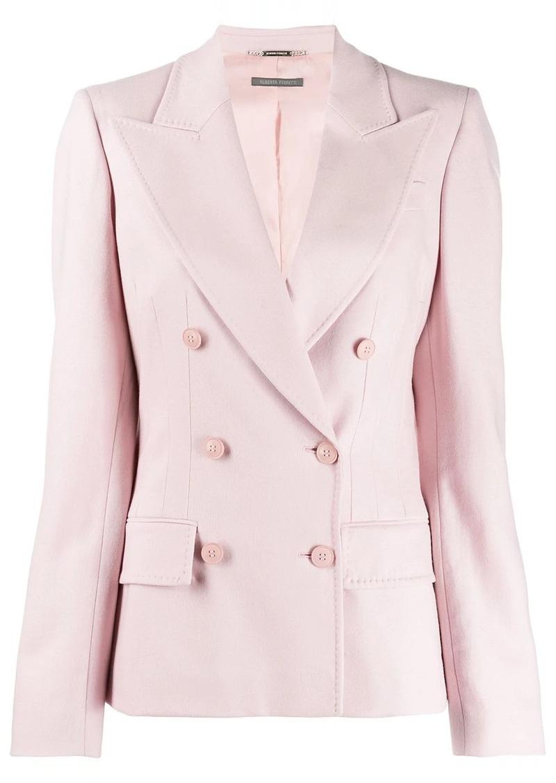 Alberta Ferretti double-breasted blazer