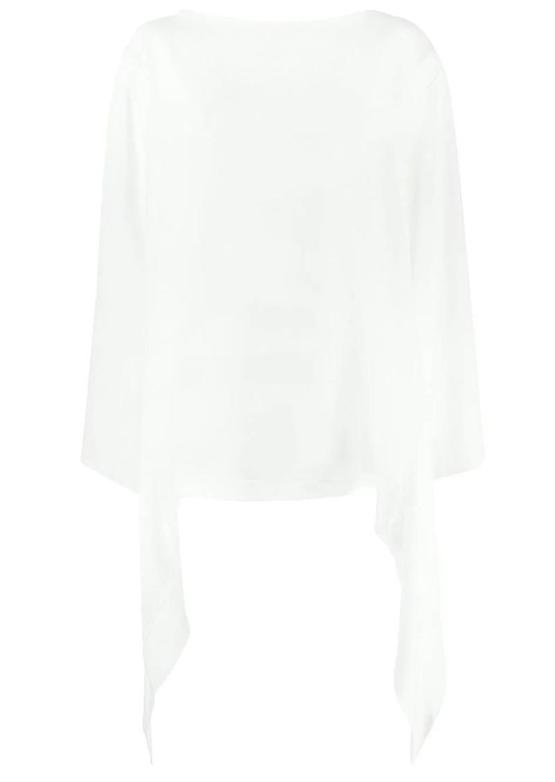 Alberta Ferretti draped details blouse