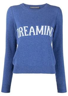 Alberta Ferretti dreaming intarsia-knit jumper
