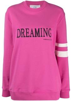 Alberta Ferretti dreaming print sweatshirt