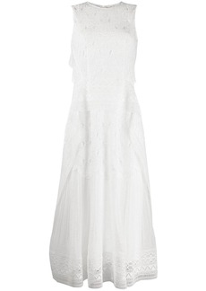 Alberta Ferretti embroidered dress