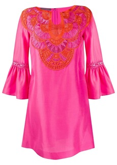Alberta Ferretti embroidered kaftan dress