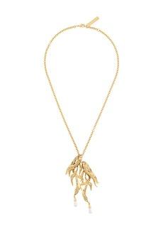 Alberta Ferretti fish pendant necklace