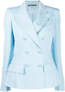 Alberta Ferretti fitted double breasted blazer