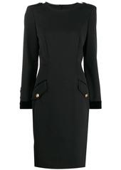 Alberta Ferretti flap pocket dress