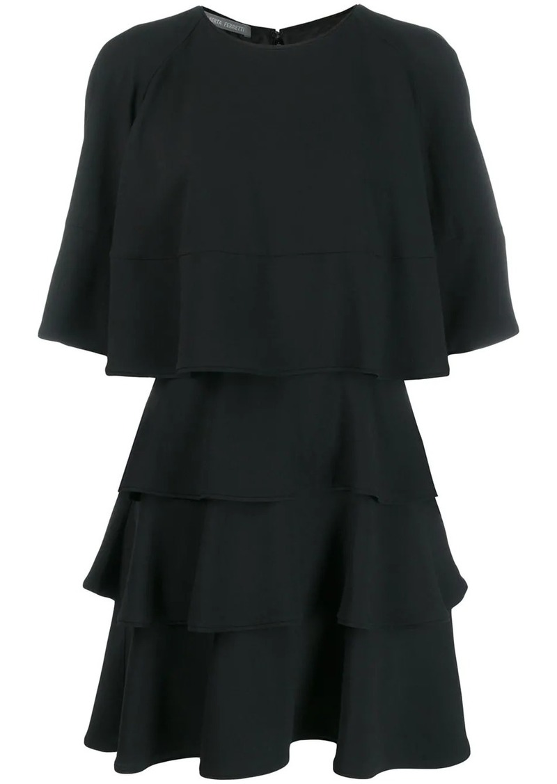 Alberta Ferretti flared layered dress