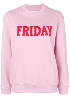 Alberta Ferretti Friday jersey sweater