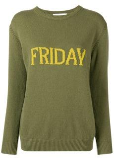 Alberta Ferretti Friday knitted jumper