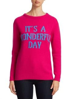 Alberta Ferretti Rainbow Week Capsule Days Of The Week It's A Wonderful Day Sweater