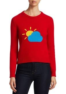 Alberta Ferretti Rainbow Week Capsule Days Of The Week Partly Cloudy Emoji Sweater
