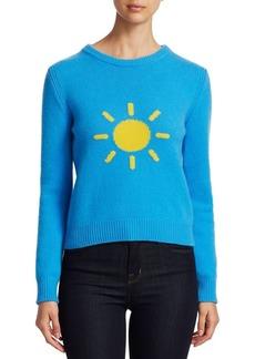 Alberta Ferretti Rainbow Week Capsule Days Of The Week Sun Emoji Sweater