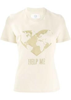 Alberta Ferretti Help Me embroidered T-shirt