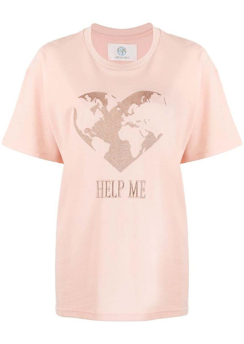 Alberta Ferretti Help Me T-shirt