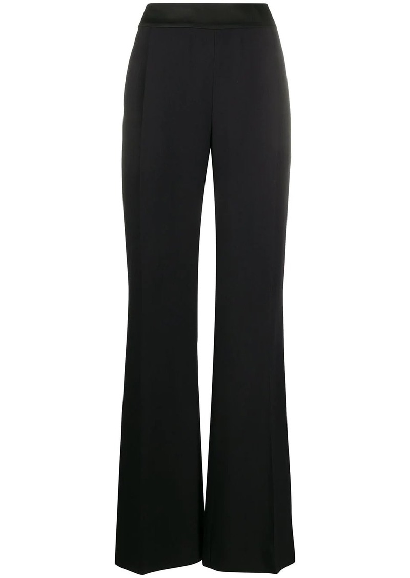 Alberta Ferretti high-waist flared trousers