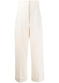 Alberta Ferretti high-waist tailored trousers