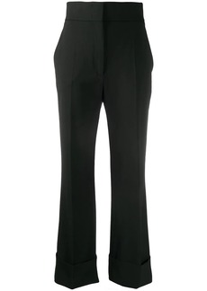 Alberta Ferretti high-waisted flared leg trousers