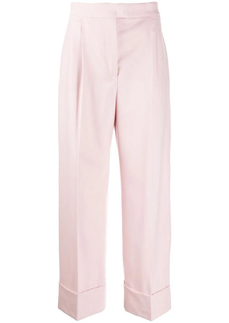 Alberta Ferretti high-waisted palazzo trousers
