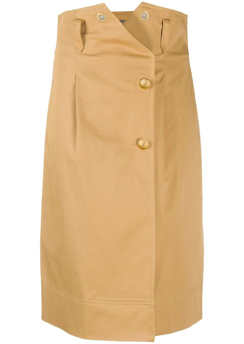 Alberta Ferretti high waisted pencil skirt