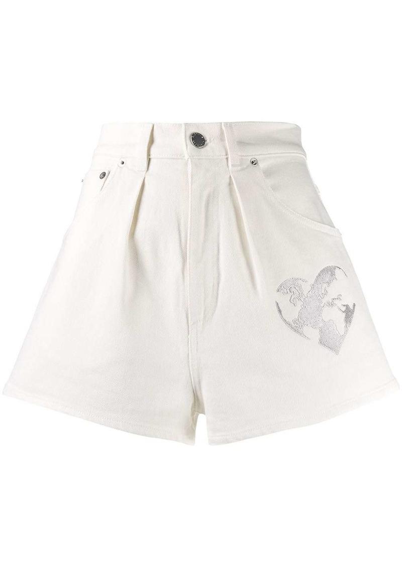 Alberta Ferretti high waisted shorts