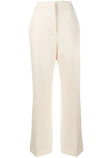 Alberta Ferretti high-waisted straight-leg trousers