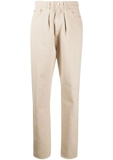 Alberta Ferretti high-waisted tapered trousers