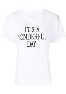 Alberta Ferretti It's a Wonderfull Day T-shirt