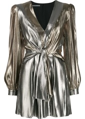 Alberta Ferretti knot detail dress