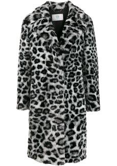 Alberta Ferretti leopard pattern coat