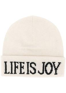Alberta Ferretti Life Is Joy knitted beanie