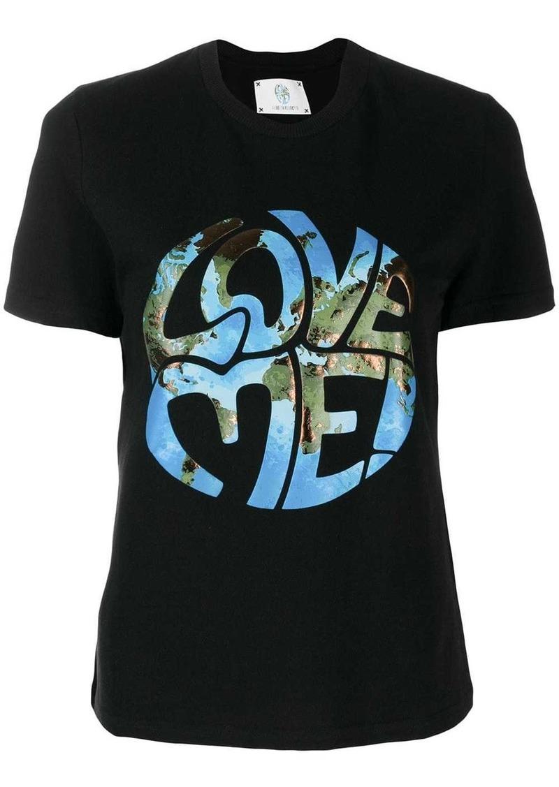 Alberta Ferretti Love Me! printed T-shirt