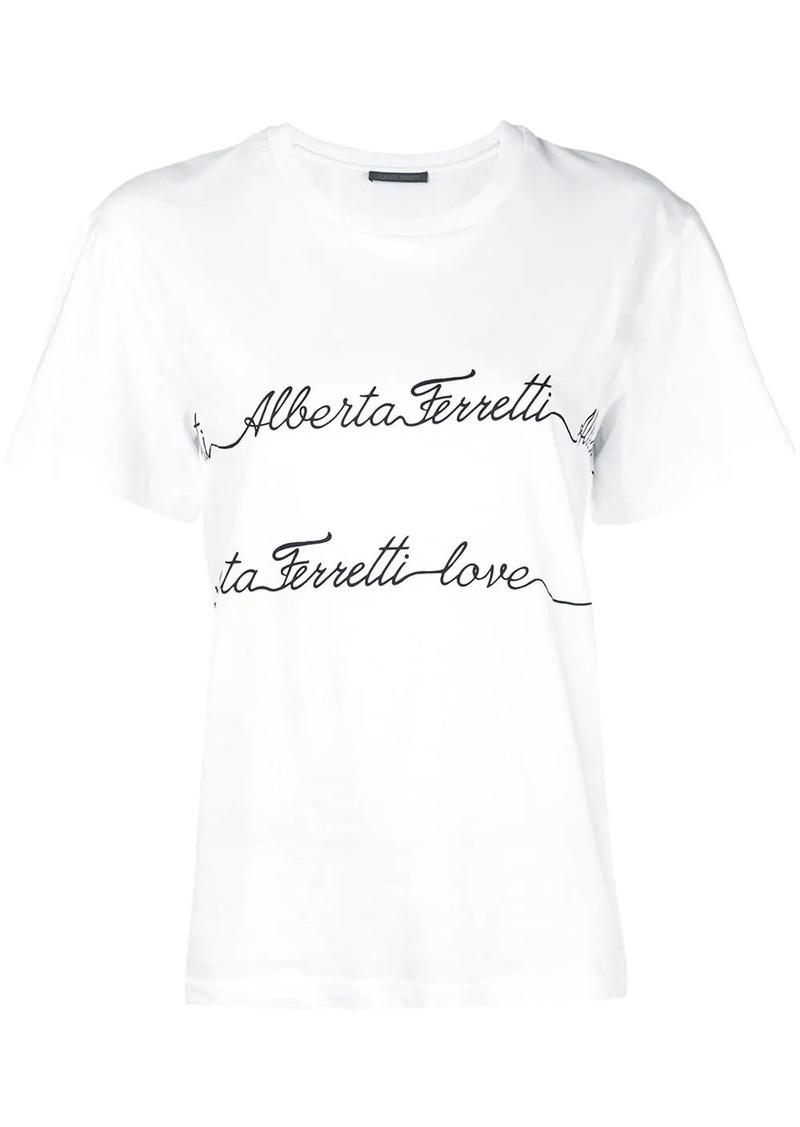 Alberta Ferretti Love T-shirt