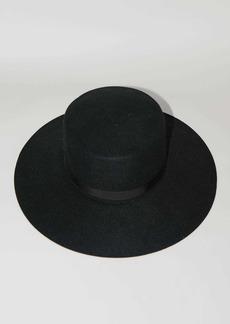 Alberta Ferretti Lvr Exclusive Flat Brimmed Hat