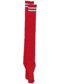 Alberta Ferretti metallic sheen socks