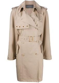 Alberta Ferretti mid-length trench coat