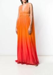 Alberta Ferretti ombré goddess gown