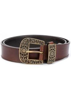Alberta Ferretti ornate buckle belt