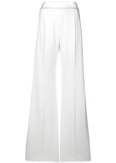 Alberta Ferretti plain flared trousers