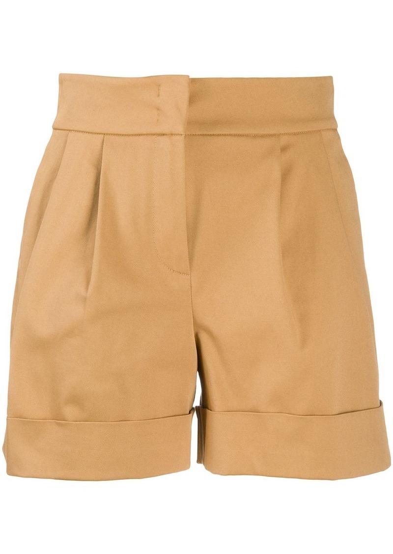 Alberta Ferretti pleated waist shorts