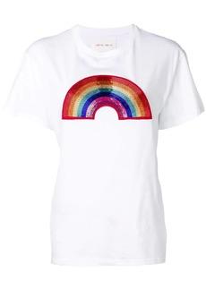 Alberta Ferretti rainbow embellished T-shirt