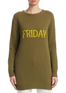 Alberta Ferretti Rainbow Week Capsule Days Of The Week Friday Sweater