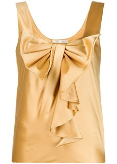 Alberta Ferretti ruffle bow-detail blouse