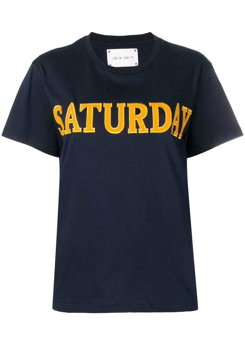 Alberta Ferretti Saturday T-shirt