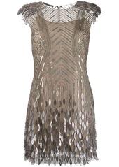 Alberta Ferretti sequin embellished dress