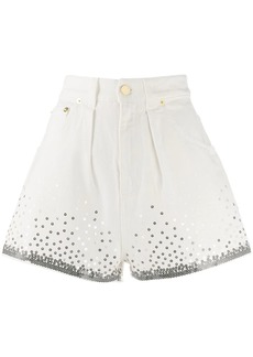 Alberta Ferretti sequin embellished shorts